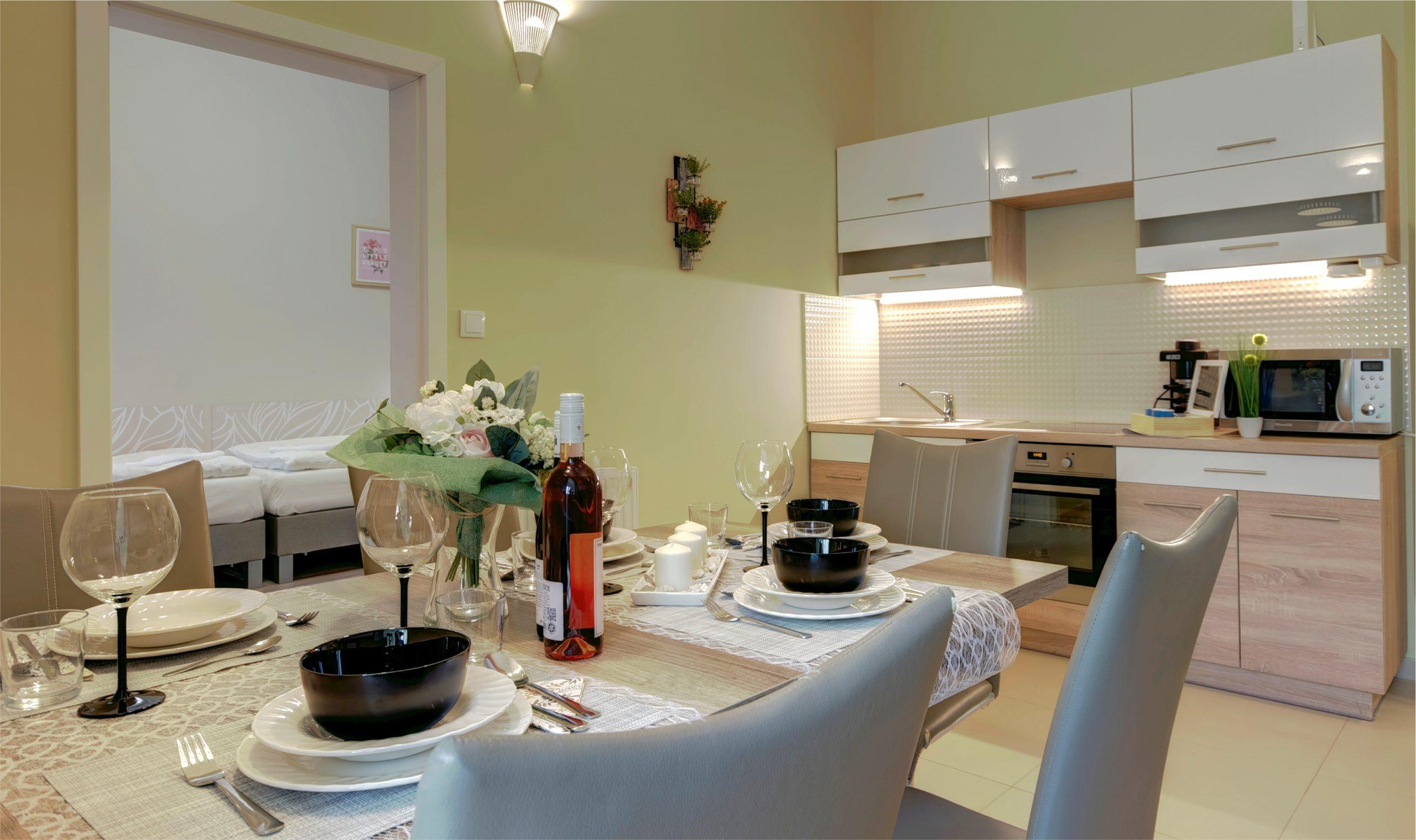 Földszinti apartman konyha